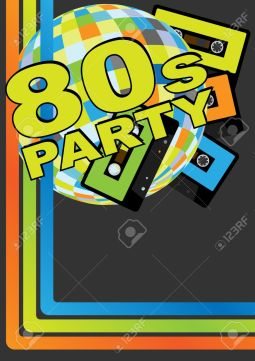 10257122-Retro-Party-Background-Retro-Audio-Cassette-Tapes-Disco-Ball-and-80s-Party-Sign-Stock-Vector