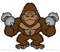 bodybuilder-gorilla-cartoon-character-jungle-gym-coghill-02