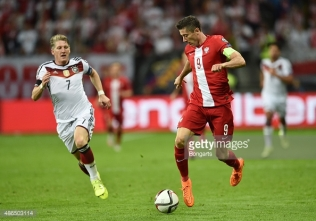 during the EURO 2016 Qualifier Group D match between Germany and Poland at Commerzbank-Arena on September 4, 2015 in Frankfurt am Main, Germany.