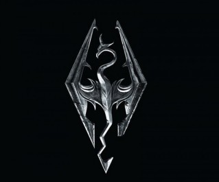 Skyrim-logo-dragon