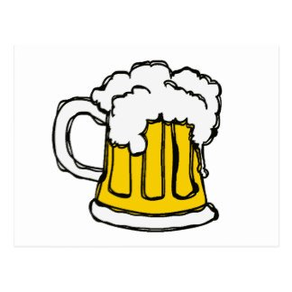 Beautiful Beer Cartoon Images Alcohol Cartoon Postcards
